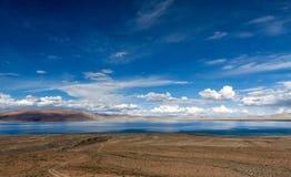 See in der Tibet-Hochebene Stockfoto