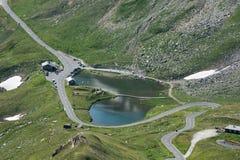 See in einem Tal Nationalpark Hohe Tauern Grossglockner Österreich Lizenzfreie Stockbilder