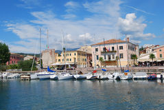 See Garda, Bardolino, Italien 01 Lizenzfreies Stockfoto