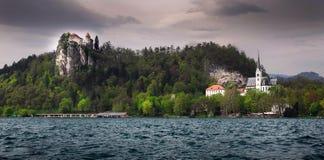 See geblutet - Slowenien stockfoto