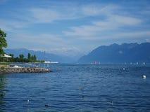 See Genf Lizenzfreie Stockfotografie