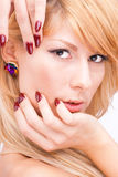 See through the glamour - Natural Beauty Stock Image