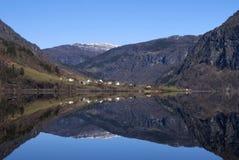 See Granvinvatnet Stockbild