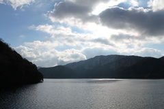 See Hakone Lizenzfreies Stockfoto