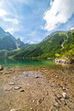 See im Berg Lizenzfreies Stockfoto