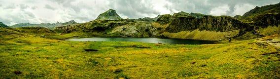 See im Berg Stockbild