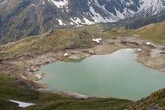 See im Gavia-Durchlauf Lizenzfreies Stockbild
