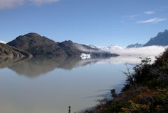 See im Patagonia Lizenzfreie Stockfotografie
