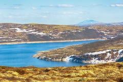 See Innerdalsvatnet, Norwegen Stockbild