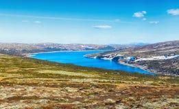 See Innerdalsvatnet, Norwegen Lizenzfreie Stockfotos