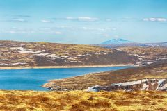 See Innerdalsvatnet, Norwegen Stockfoto