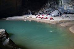 See innerhalb Hang En-Höhle, die world's 3. größte Höhle 2 Stockfotografie