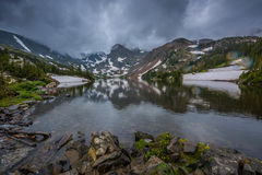 See Isabelle Brainard Lake Recreation Area Lizenzfreie Stockbilder