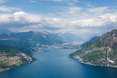See Iseo, Italien stockfoto