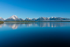 See Jackson in Wyoming Lizenzfreie Stockbilder