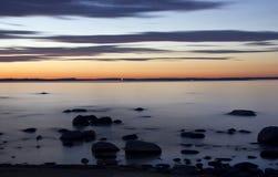 See Ladoga, Karelien Lizenzfreie Stockfotos