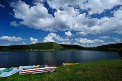 See-Landschaft lizenzfreie stockbilder
