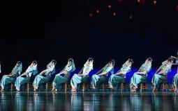 "See the lanterns -Dance drama ""The Dream of Maritime Silk Road"" Stock Photos"