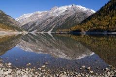 See Livigno Lizenzfreies Stockfoto