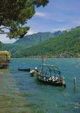 See Lugano, Ticino, Tessin, Luganer sehen, die Schweiz Lizenzfreie Stockbilder
