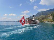 See Luzern Swistzerland lizenzfreie stockbilder