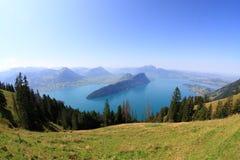 See Luzerne Lizenzfreie Stockfotos