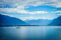 See Maggiore, die Schweiz Lizenzfreies Stockfoto