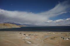 See Manasarovar in Tibet Stockbild