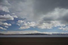 See Manasarovar in Tibet Lizenzfreie Stockfotografie
