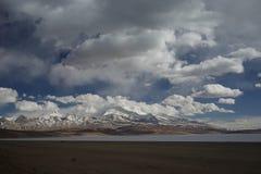 See Manasarovar in Tibet Lizenzfreie Stockfotos