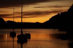 See Marina Sunset stockfotos