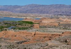See Mead National Recreation Area, Nevada Stockfoto