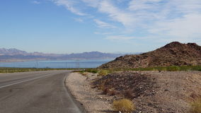 See Mead National Recreation Area in Nevada Lizenzfreie Stockbilder