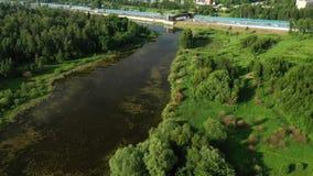 See nahe der Landstraße stock footage