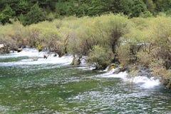 See in Nationalpark Jiuzhaigou Stockbild