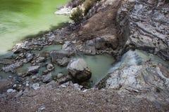 See Ngakoro-Wasserfall lizenzfreie stockbilder