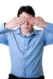 See no evil Stock Images