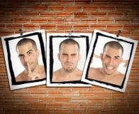 See no evil, brick wall Royalty Free Stock Images