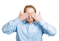 See no evil Stock Image