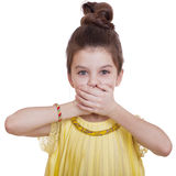 See No Evil, Hear No Evil, do not say anything Royalty Free Stock Photos