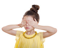 See No Evil, Hear No Evil, do not say anything Royalty Free Stock Image