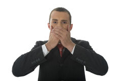 Speak No Evil Stock Image