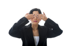 See No Evil Royalty Free Stock Photos
