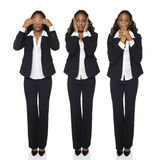 See No Evil, Hear No Evil, Speak No Evil Royalty Free Stock Photos