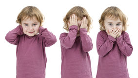 See no Evil Hear no Evil Speak no Evil Royalty Free Stock Photography