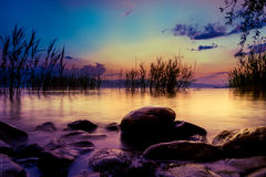 See Ohrid, Makedonien Stockbilder