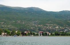 See Ohrid, Makedonien Stockfoto