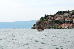 See Ohrid, Makedonien Lizenzfreie Stockbilder