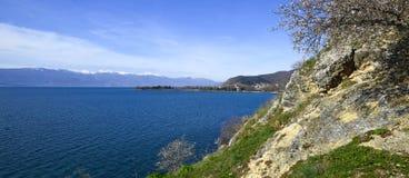 See Ohrid, Makedonien Stockbild