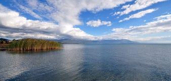 See Ohrid Mazedonien Lizenzfreie Stockfotografie